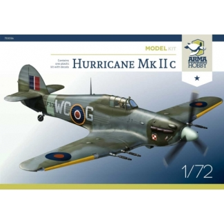 Hurricane Mk IIc Model Kit (1:72)