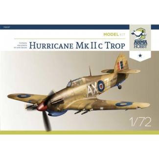 Hurricane Mk IIc trop Model Kit (1:72)