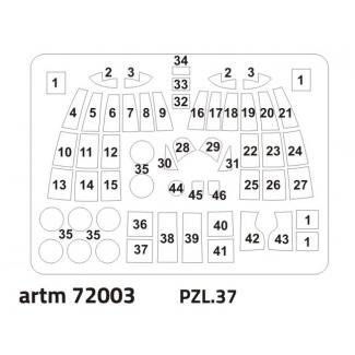 PZL.37: Maska (1:72)