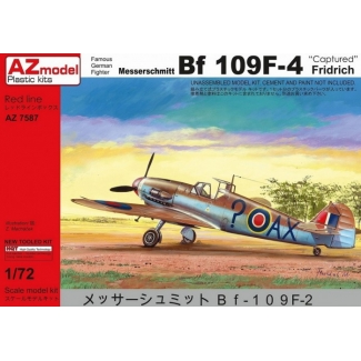 "Messerschmitt Bf-109F-4 ""Captured"" (1:72)"