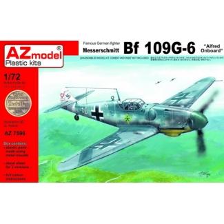 """Messerschmitt Bf 109G-6 """"Alfred Onboard"""" (1:72)"""