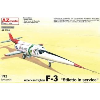"""American Fighter F-3 """"Stiletto in Service"""" (1:72)"""