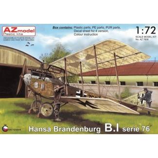 Hansa Brandenburg B.I serie 76 (1:72)