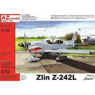 """Zlin Z-242L """"Military"""" (1:72)"""