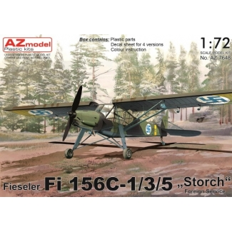 """Fi 156C-1/3/5 """"Storch"""" Foreign Service (1:72)"""