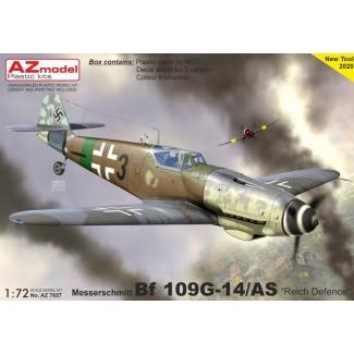 """Messerschmitt Bf 109G-14/AS """"Reich Defence"""" (1:72)"""