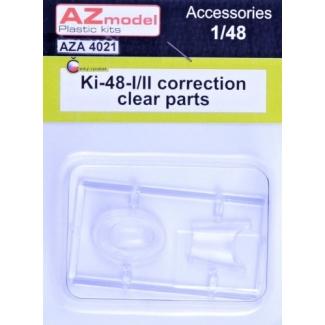 Ki-48-I/II Sokei corrected clear part (1:48)