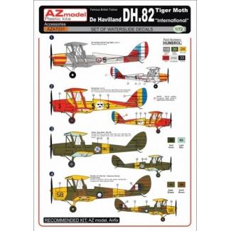 "DH-82 Tiger Moth ""International"" decal (1:72)"