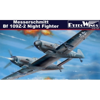 Messerschmitt Bf 109Z-2 Night Fighter (1:72)