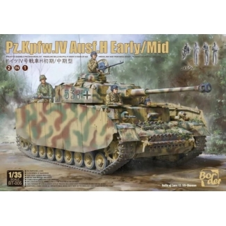 Pz.Kpfw.IV Ausf.H Early/Mid (2 in 1) (1:35)