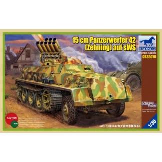 15cm Panzerwerfer 42 (Zehnling) auf sWS (1:35)