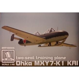 Yokosuka Ohka MXY7-K1 KAI (two seats) (1:48)