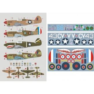P-40F Warhawk/Kittyhawk Mk.IIA (1:32)