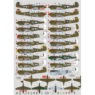 P-40K/M/N Kittyhawk in RAAF Service (1:72)