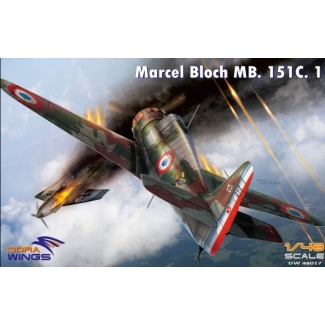 Dora Wings 48017 Marcel Bloch MB.151C.1 (1:48)