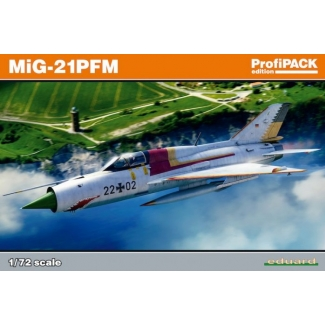 Eduard 70144 MiG-21PFM - ProfiPACK (1:72)