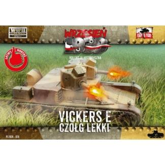 First to Fight Czołg lekki Vickers E (1:72)