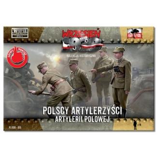 First to Fight Polscy Artylerzyści Artylerii Polowej (1:72)