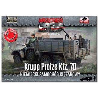 First to Fight Krupp Protze Kfz. 70 Niemiecki samochód ciężarowy (1:72)