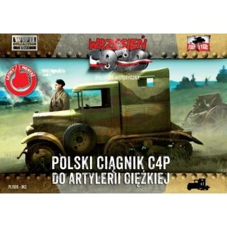 First to Fight Polski ciągnik C4P do artylerii ciężkiej (1:72)