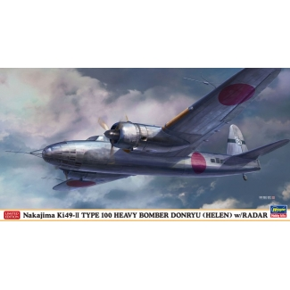 Nakajima Ki49-II TYPE 100 HEAVY BOMBER DONRYU (HELEN) w/RADAR (1:72)