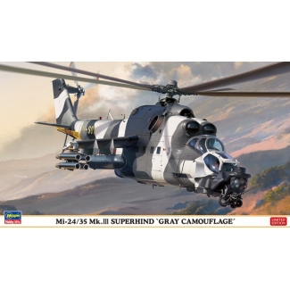 "Mi-24/35 Mk.III Super Hind ""Gray Camouflage"" - Limited Edition  (1:72)"
