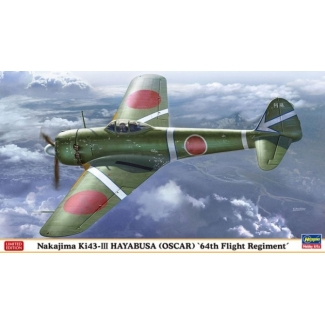 Nakajima Ki-43III Hayabusa '64th Flight Regiment' - Limited Edition (1:48)