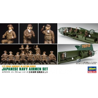 Japanese Navy Airmen Set (X72-16) (1:72)