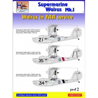 Supermarine Walrus Mk.I in FAA Service, Pt.2 (1:72)