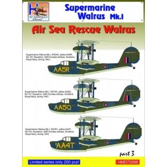 Supermarine Walrus Mk.I - ASR, Pt.3 (1:72)