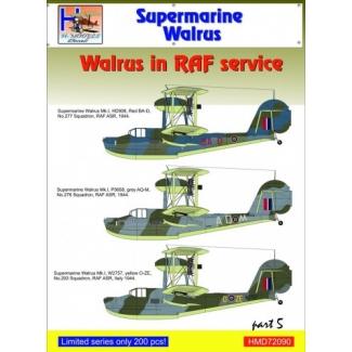 Supermarine Walrus in RAF Service, Pt.5 (1:72)