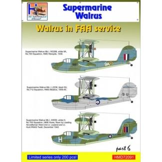 Supermarine Walrus in FAA Service, Pt.6 (1:72)