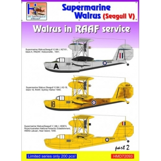 Supermarine Walrus/Seagull V in RAAF Service, Pt.2 (1:72)