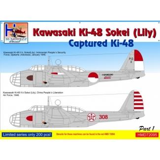 Kawasaki Ki-48 Captured Lilys, Pt.1 (1:72)