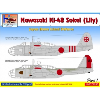 Kawasaki Ki-48 Japan Home Island Defence, Pt.1 (1:72)