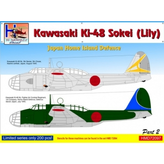 Kawasaki Ki-48 Japan Home Island Defence, Pt.2 (1:72)