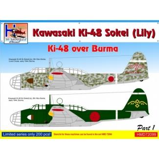 Kawasaki Ki-48 over Burma, Pt.1 (1:72)