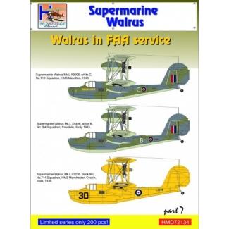 Supermarine Walrus in FAA Service, Pt.7 (1:72)