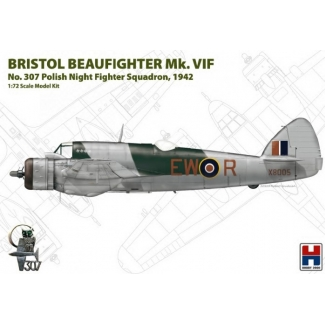 "Bristol Beaufighter Mk.VIF ""No.307 Polish Night Fighter Squadron, 1942"" - Limited Edition (1:72)"