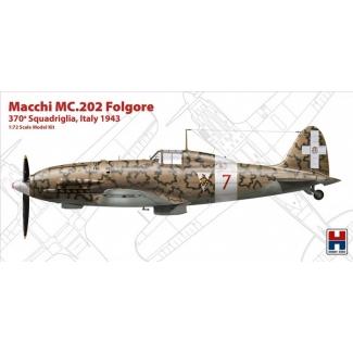 """Macchi MC.202 Folgore """"370 Squadriglia,Italy 1942"""" - Limited Edition (1:72)"""