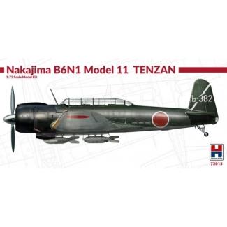 Hobby 2000 72015 Nakajima B6N1 Model 11 Tenzan - Limited Edition (1:72)