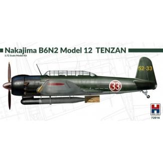Hobby 2000 72016 Nakajima B6N2 Model 12 Tenzan - Limited Edition (1:72)