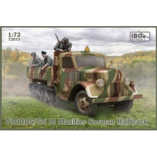 IBG 72073 V3000S/SS M Maultier German Halftrack (1:72)