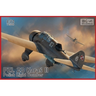 PZL.23 Karaś II - Polish Light Bomber (1:72)