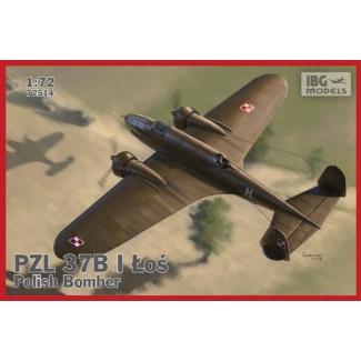 PZL.37B I Łoś - Polish Bomber (NOWE FORMY) (1:72)