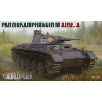 World At War Panzerkampwagen III Ausf. A (1:72)