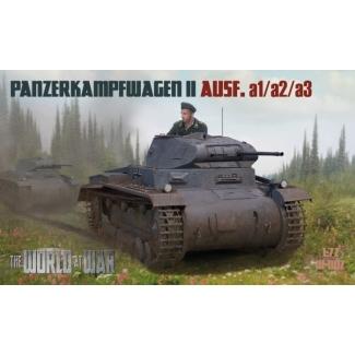 World At War Panzerkampwagen II Ausf. a1/a2/a3 (1:72)