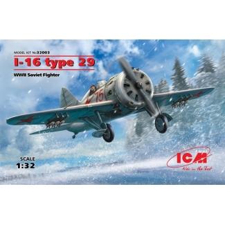 I-16 type 29, WWII Soviet Fighter (1:32)