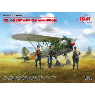 CR. 42 LW with German Pilots (1:32)