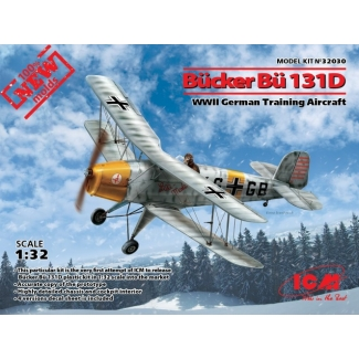 Bücker Bü 131D, WWII German Training Aircraft (1:32)